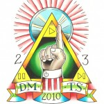 Mix CD Cover for DMTS, 2010