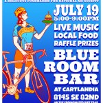Bike MS Event Poster, July 2014