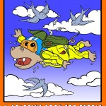 Animals In Funny Situations: A Coloring Book For People