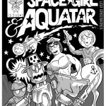 """Space Girl And Aquatar,"" from ""The Star Painters"""