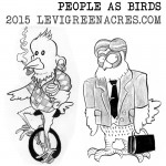 People As Birds, Portland Opposites Edition
