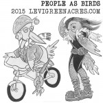 People as Birds, April 2015