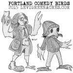 Portland Comedy Birds, March 2015
