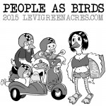 People As Birds, June 2015